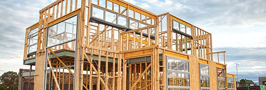 La construction en bois